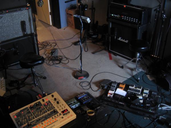 Studio shots from 2008