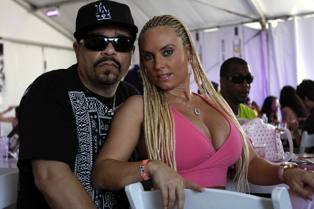 Ice-T and his wife Coco