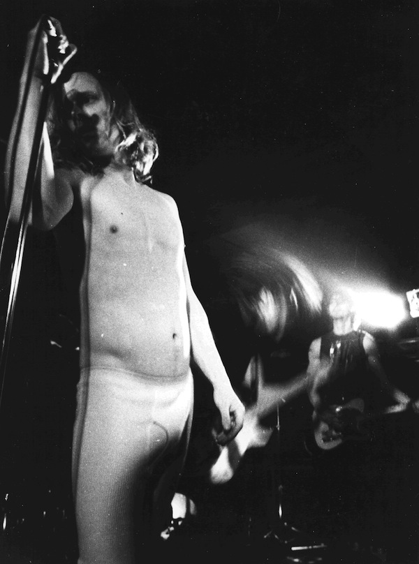 Swans, live in 1986