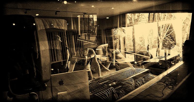 Solar Bears in the studio