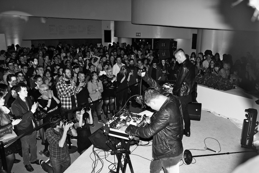 Cold Cave @ Guggenheim Museum (Photo: Andrew Parks)