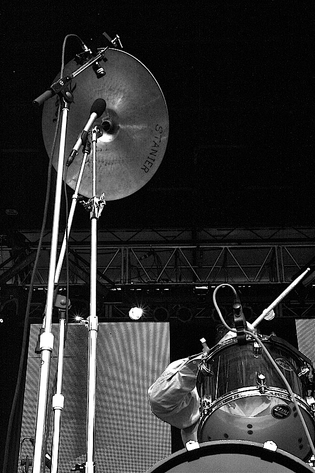 John Stanier of Battles - Live @ Pitchfork Festival