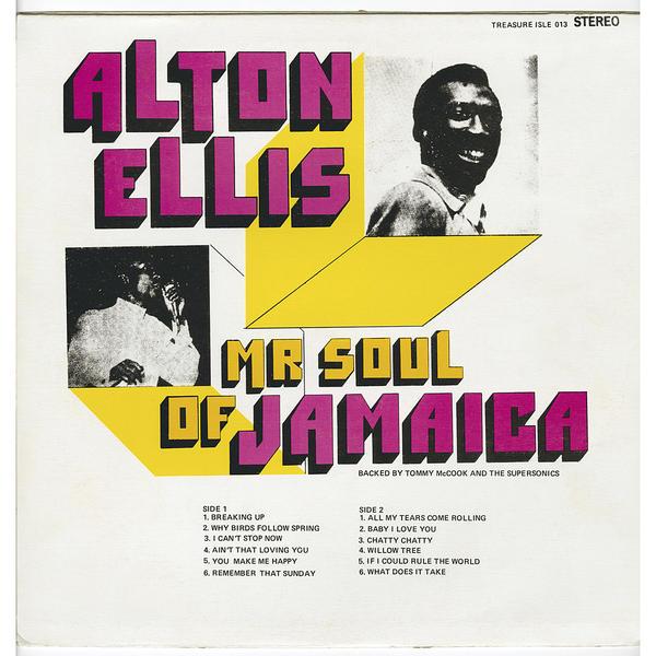 Alton Ellis - 'Mr. Soul of Jamaica'