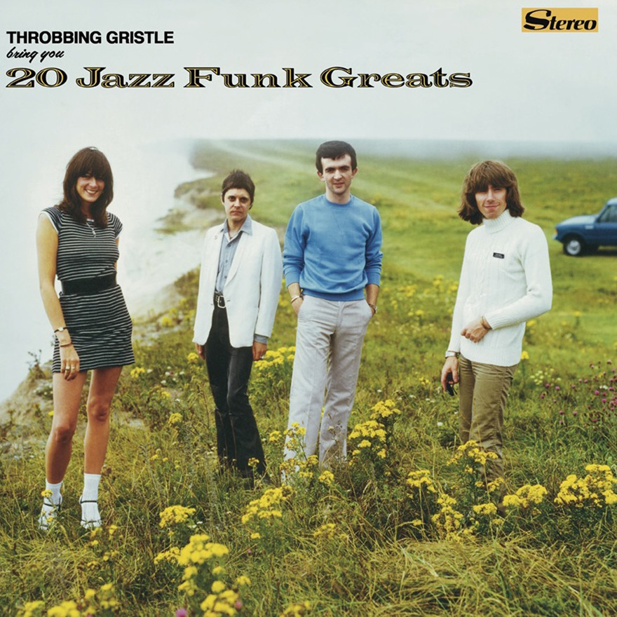 Throbbing Gristle - '20 Jazz Funk Greats' cover