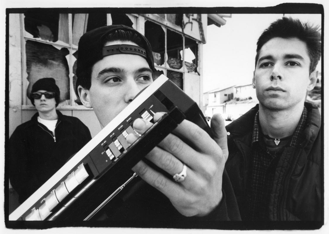 An old Beastie Boys press shot