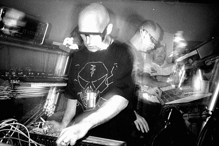 Orbital, live on the first U.S. tour in 1992