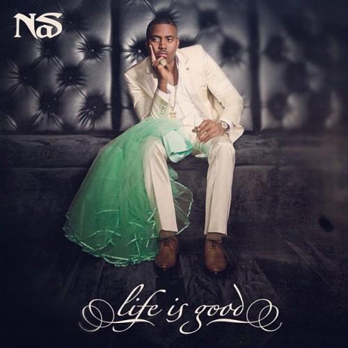 Nas - 'Life is Good' album cover