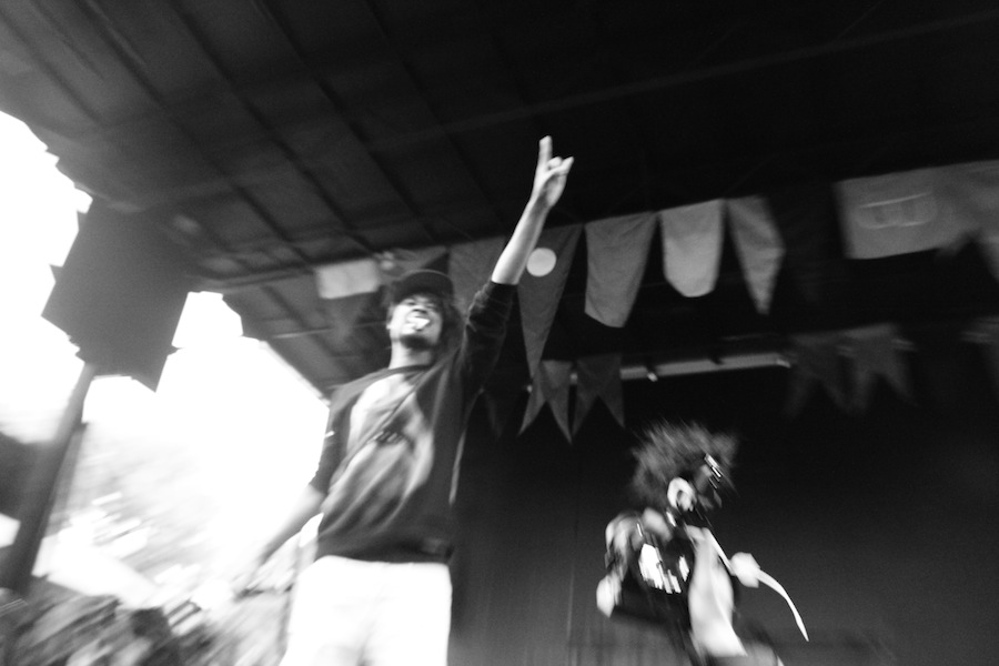 Danny Brown @ Pitchfork Music Festival