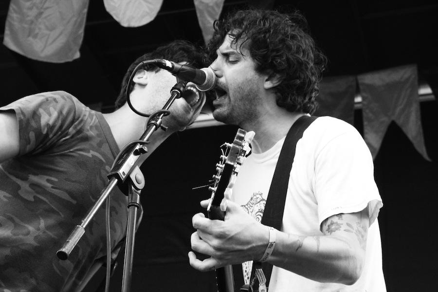 The Men live at Pitchfork Music Festival