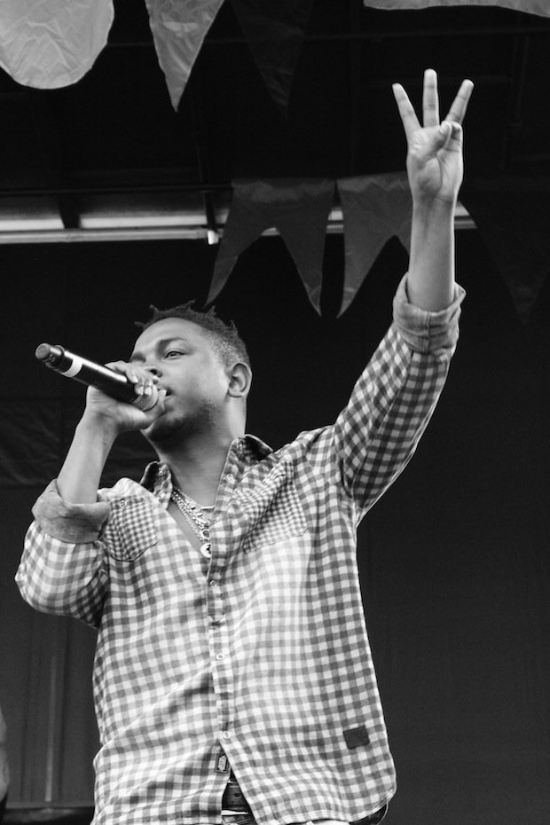 Kendrick Lamar live at Pitchfork Music Festival