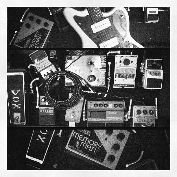Hopewell's guitar pedals