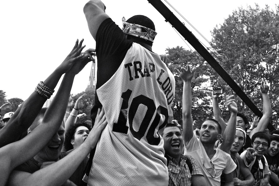A$AP Mob @ Pitchfork Music Festival (Photo: Andrew Parks)