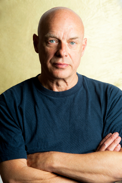 Brian Eno (Photo Credit: Michiko Nakao)