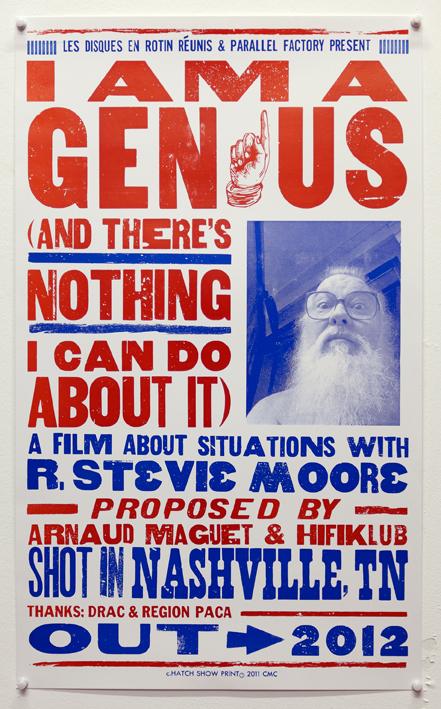 R Stevie Moore Documentary Flyer