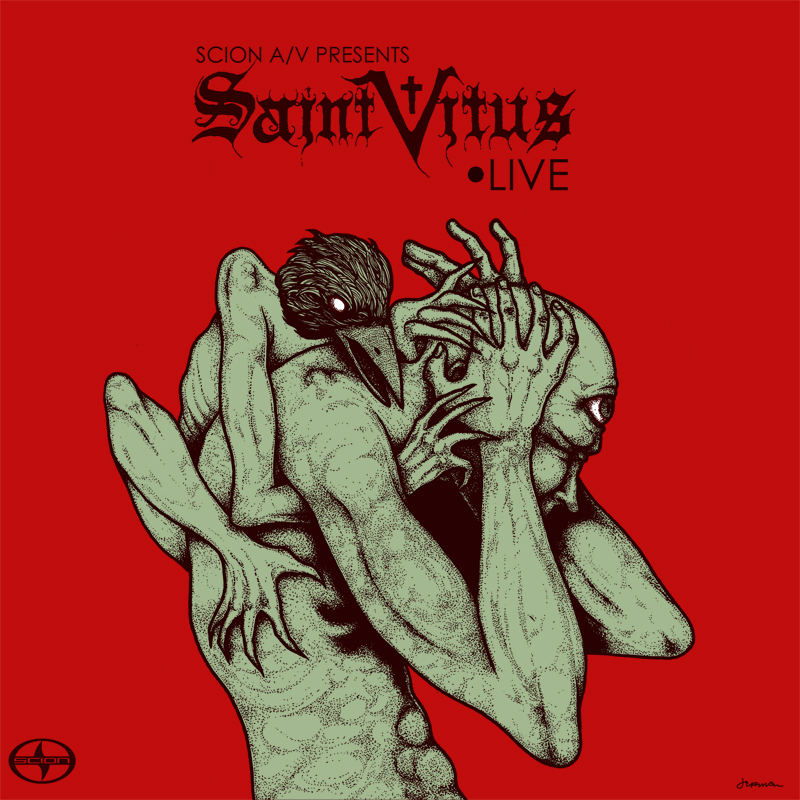 Saint Vitus - Scion A/V EP