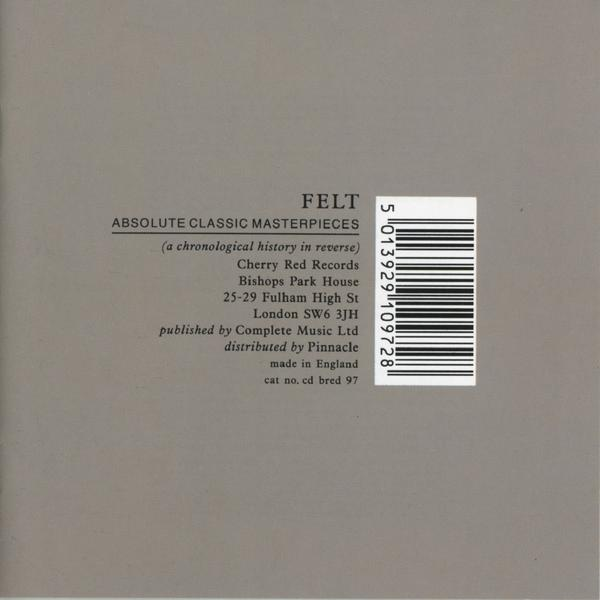 Felt - 'Absolute Classic Masterpieces'