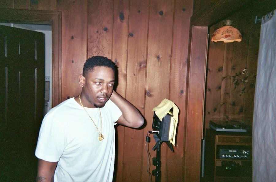 A Kendrick Lamar candid from SXSW