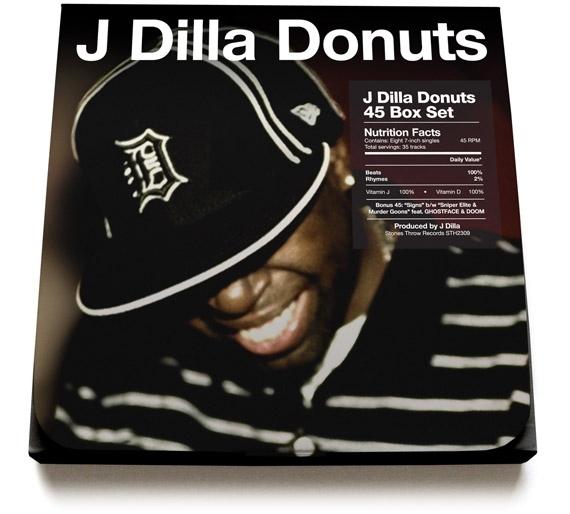J Dilla's 'Donuts' box set