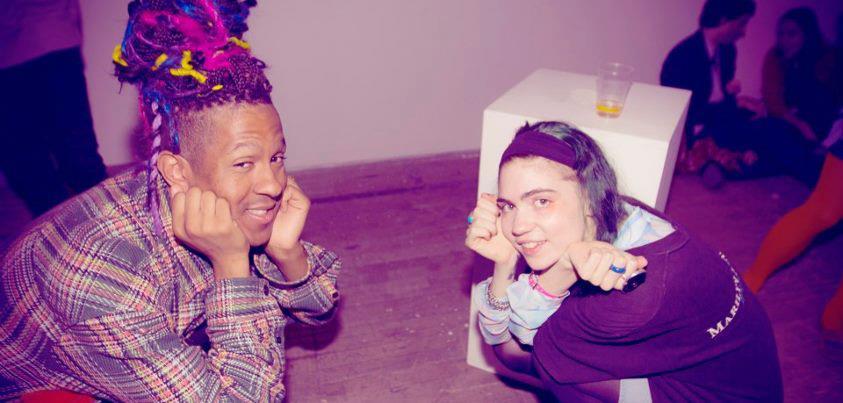 Mykki Blanco + Grimes