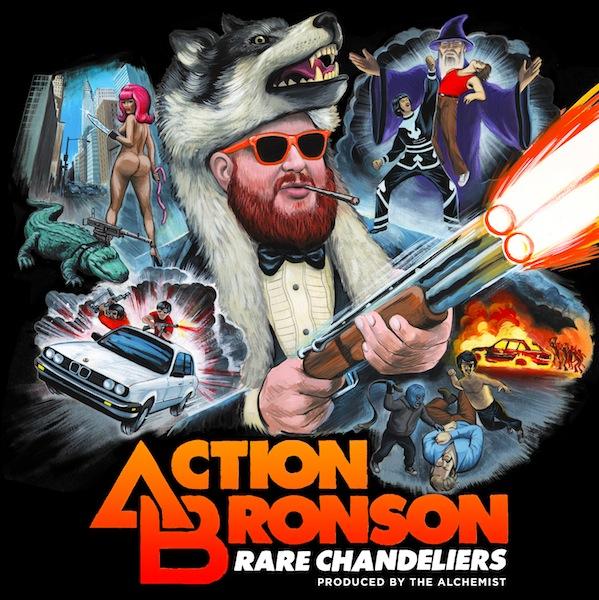 Action Bronson - 'Rare Chandeliers' mixtape