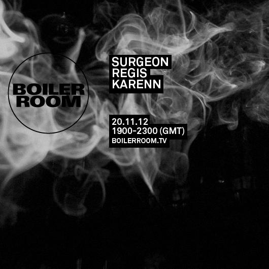 Karenn, live at the Boiler Room