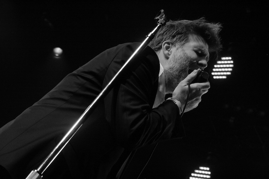 James Murphy at LCD Soundsystem's final show