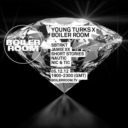 Jamie xx's Boiler Room flyer