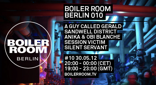 Silent Servant, live @ the Boiler Room