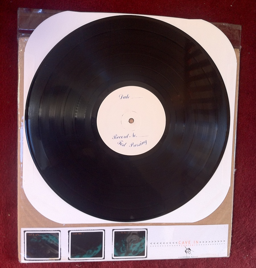 A 'Tides of Tomorrow' test pressing