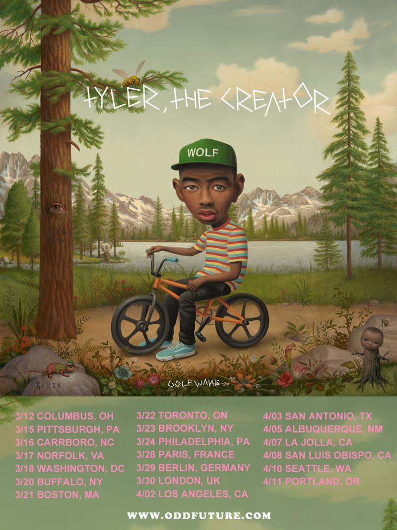 Tyler, the Creator tour dates