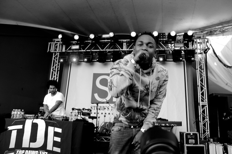 Kendrick Lamar @ SPIN's party