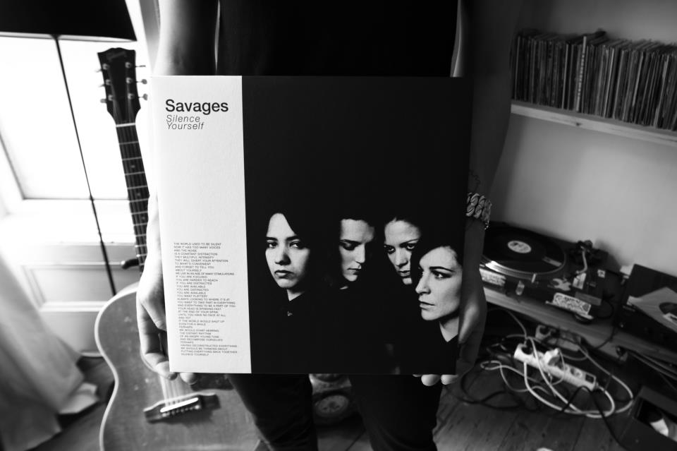 Savages hold 'Silence Yourself' in their hands