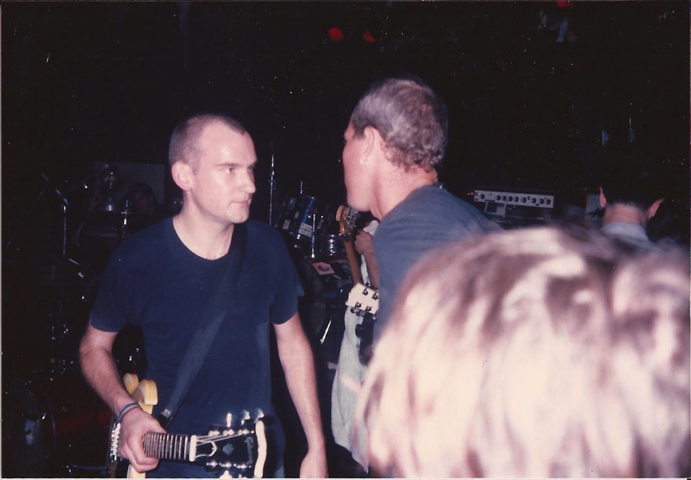 Ian MacKaye, at the show that changed it all for Emil Amos
