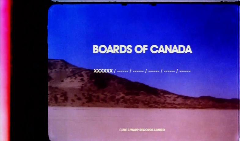 Boards of Canada 'Toonanmi' commercial