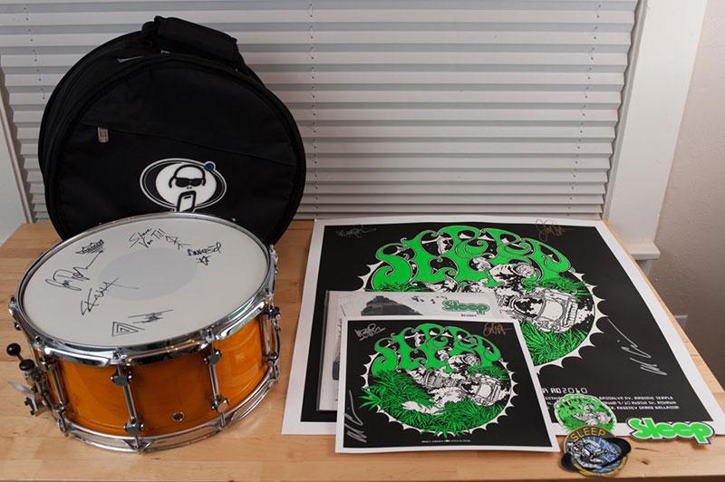 Neurosis' signed drum head