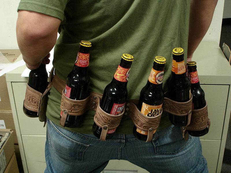 Red Fang's 'beer belt'