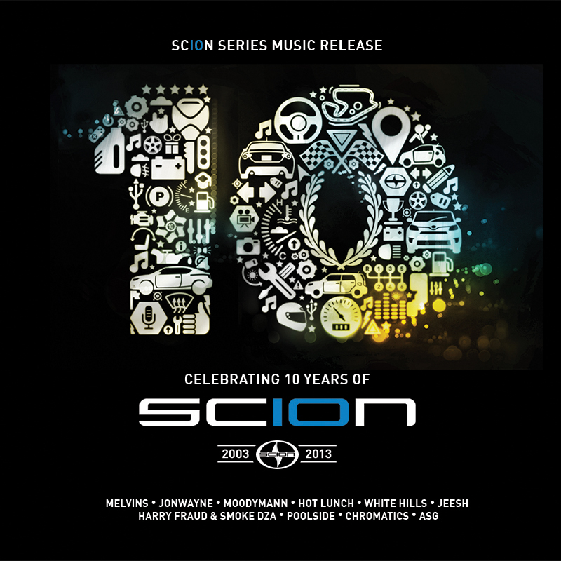 Scion's 10th anniversary compilation