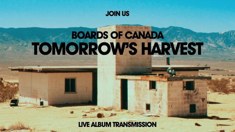 Boards of Canada's 'Live Album Transmission'