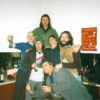 Comets on Fire, backstage with Chris Corsano in 2006