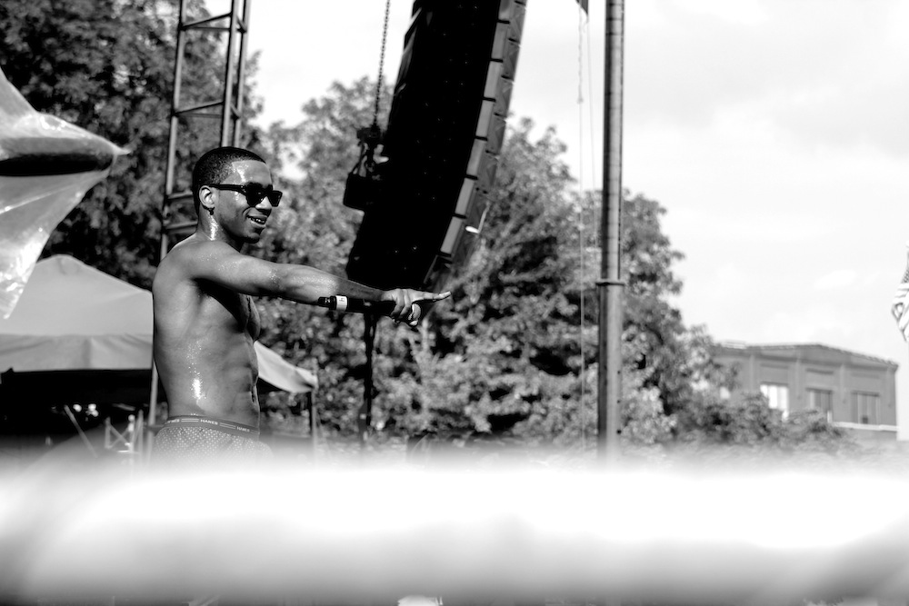 Lil B @ Pitchfork Music Festival