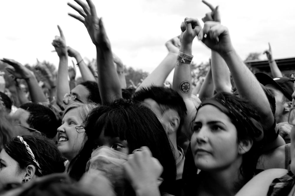 Pitchfork Music Festival fans