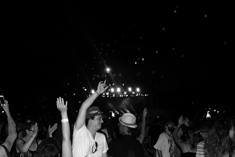 R. Kelly fans @ Pitchfork Music Festival