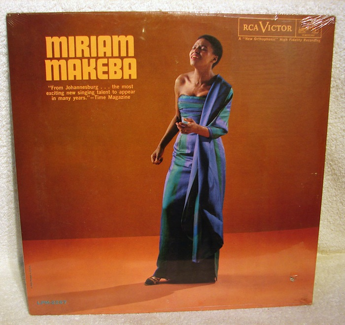 Miriam Makeba - self-titled album