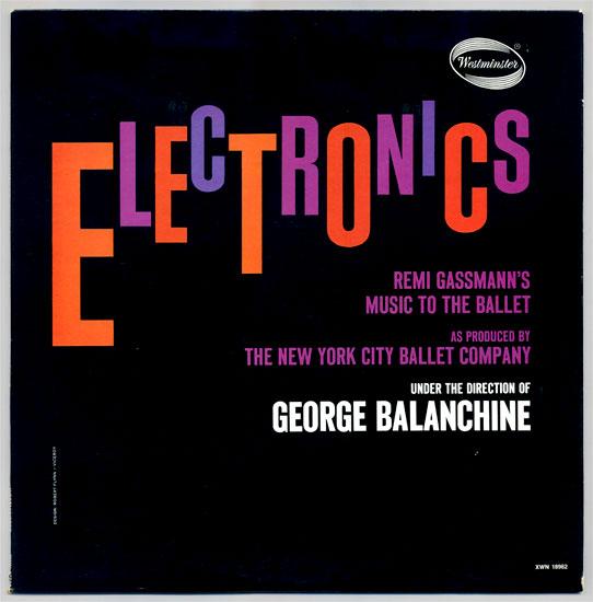 Remi Gassmann's 'Electronics'