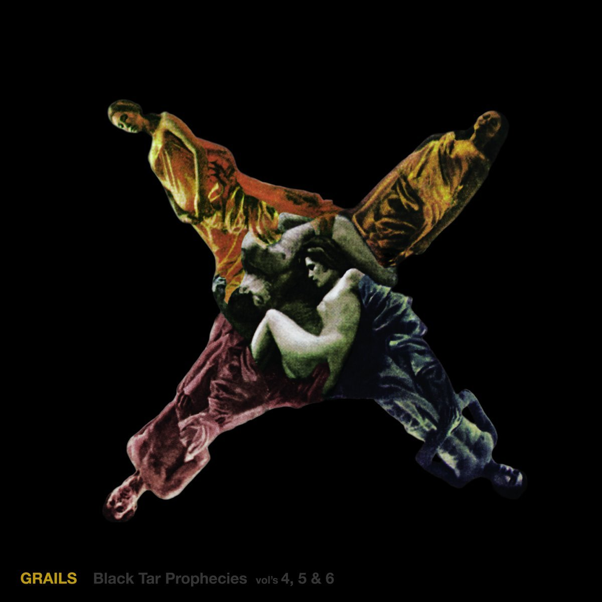 Grails - 'Black Tar Prophecies 4, 5 & 6' album cover