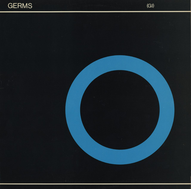 Germs - '(GI)' album cover