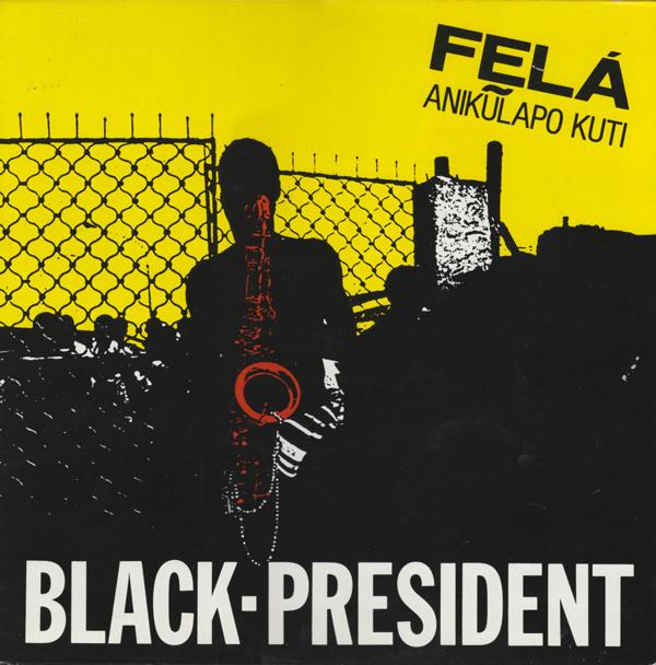 Fela - 'Black President' album cover