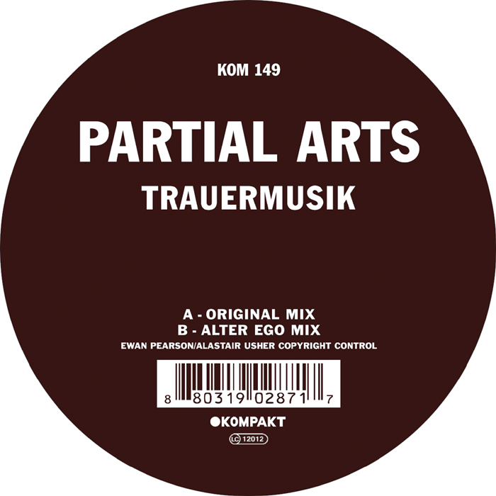 Partial Arts - 'Trauermusik'