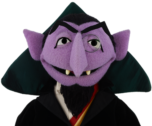 Count from 'Sesame Street'