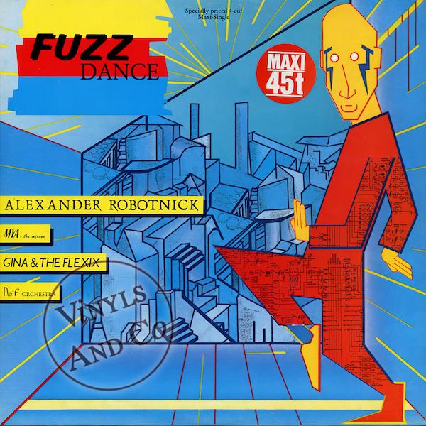 Alexander Robotnick - 'Fuzz Dance'